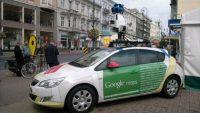 Google Street View Aracına Saldırı!