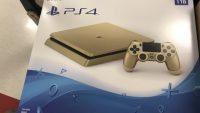PS4 Gold Slim doğrulandı!