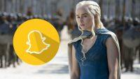 Game of Thrones, Snapchat'i ele geçirdi!