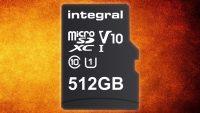 İlk 512 GB microSD kart satışa çıkıyor!