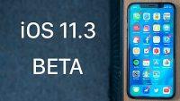 iOS 11.3 beta 1 yayınlandı!