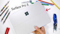 Microsoft Surface Pro 6 dayanıklılık testinde!