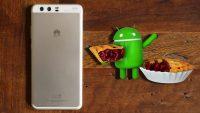 Huawei P10 Android Pie güncellemesi yayınlandı!