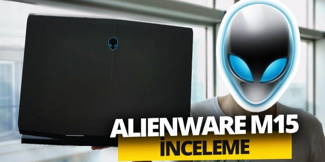 RTX 2070'li Alienware M15 inceleme!