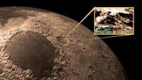 Ay'ın karanlık yüzünde yeni madde keşfedildi