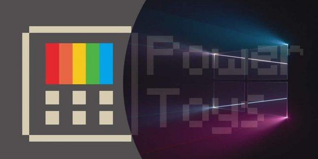 Windows 95 özelliği PowerToys, Windows 10'a geldi