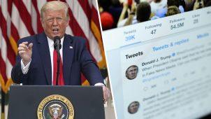 Donald Trump'tan sosyal medyayı kapatma tehdidi!