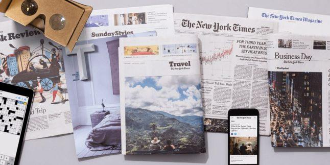 New York Times'tan dikkat çeken Corona virüsü baskısı