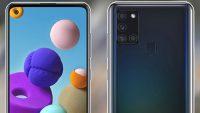 Samsung Galaxy A21s tanıtıldı! İşte özellikleri