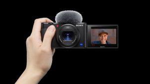 Sony yeni kompakt vlog kamerasını tanıttı!