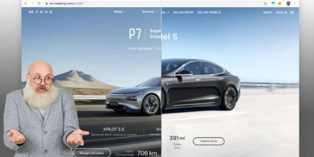 Tesla'nın internet sitesi tasarımı kopyalandı!