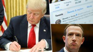 Trump sosyal medya kararnamesini imzaladı!